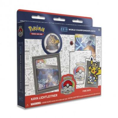 Foto van TCG Pokémon World Championships Deck 2019 - Fire Box POKEMON