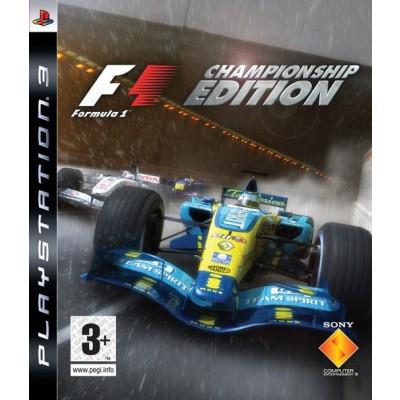 F1 Championship Edition (Formula 1) PS3