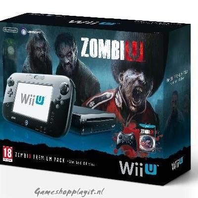 Foto van Console Zombiu Premium Pack Limited Edition 32Gb WII U
