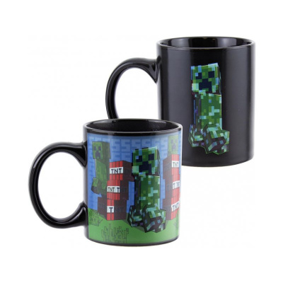 Minecraft: Creeper Heat Change Mug MERCHANDISE