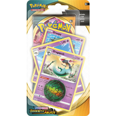 TCG Pokémon Sword & Shield Darkness Ablaze Premium Checklane Booster - Dragapult POKEMON