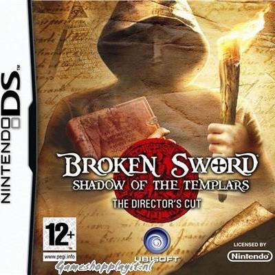 Broken Sword Shadow Of The Templars NDS