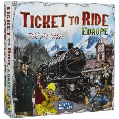 Ticket To Ride Europe BORDSPELLEN