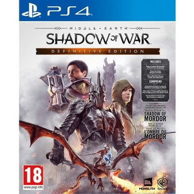 Foto van Middle-Earth Shadow Of War Definitive Edition PS4