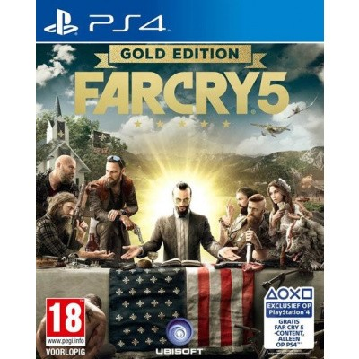 Foto van Far Cry 5 Gold Edition (Engelstalige Game)