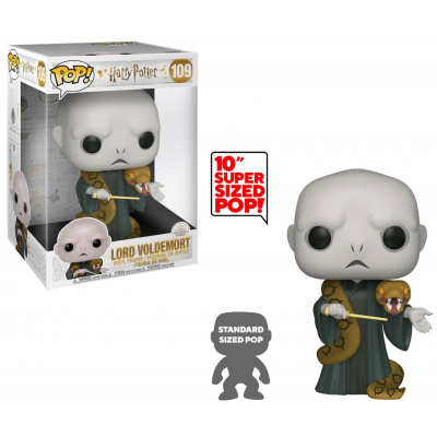 Pop! Harry Potter: Voldemort with Nagini 10 Inch FUNKO