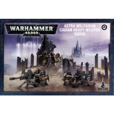 Foto van Cadian Heavy Weapons Squad Warhammer 40k