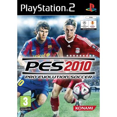 Pro Evolution Soccer 2010 (Pes 2010) PS2