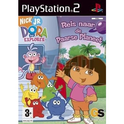 Dora The Explorer: Reis Naar De Paarse Planeet PS2