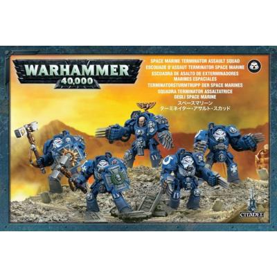 Foto van Space Marine Terminator Assault Squad WARHAMMER 40K