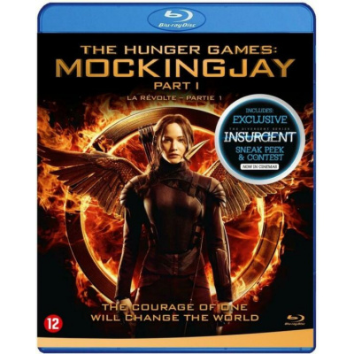 Foto van The Hunger Games Mockingjay Part 1 BLU-RAY