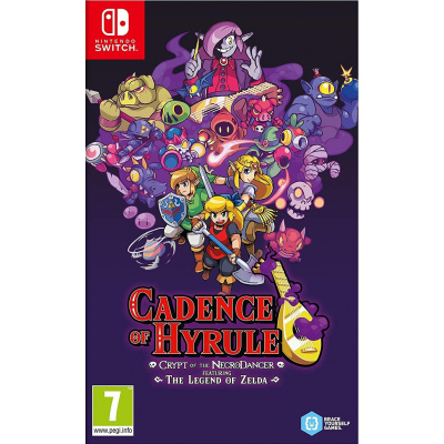 Foto van Cadence Of Hyrule Crypt Of The Necrodancer Featuring The Legend Of Zelda SWITCH