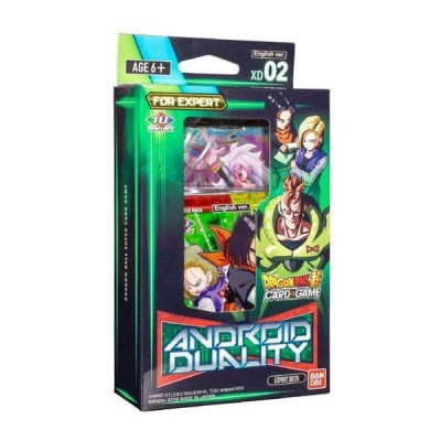 TCG Expert Deck Dragon Ball SCG Android Duality DRAGON BALL