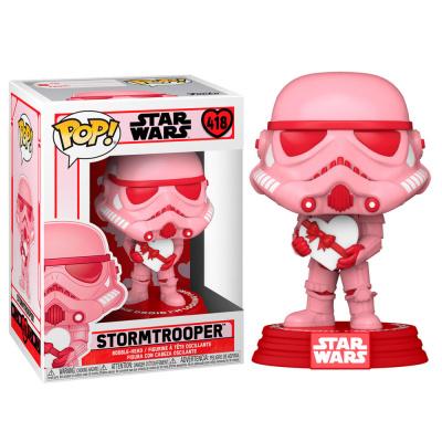 Pop! Star Wars: Valentines - Stormtrooper with Heart FUNKO