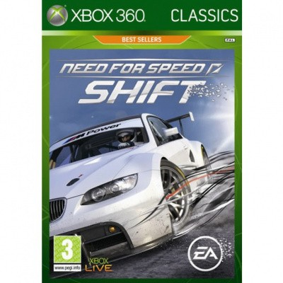 Foto van Need For Speed Shift (Classics) XBOX 360