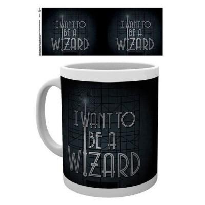 Fantastic Beasts I Want To Be A Wizard Mug