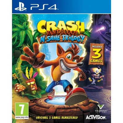 Foto van Crash Bandicoot N.Sane Trilogy PS4