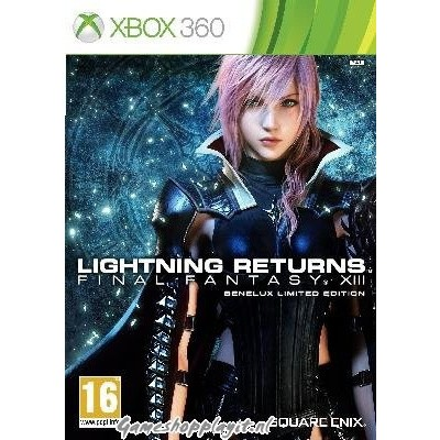 Final Fantasy XIII Lightning Return Benelux Limited Edition XBOX 360