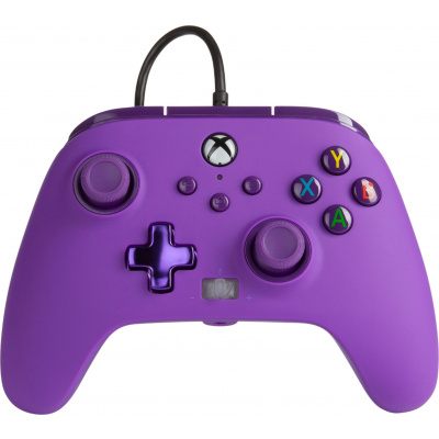Foto van PowerA Enhanced Wired Controller for Xbox Series X/S (Royal Purple) XBOX ONE