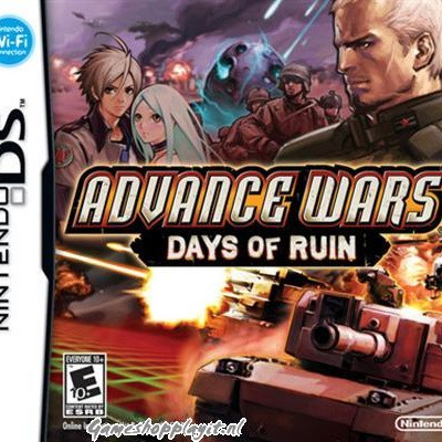 Advance Wars Days Of Ruin NDS