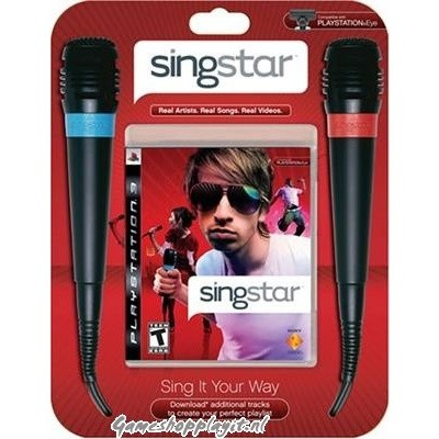 Foto van Singstar + Mic PS3