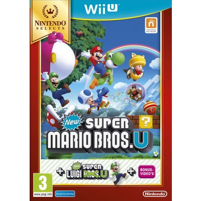 Foto van New Super Mario Bros. + New Super Luigi U (Selects) Wii U