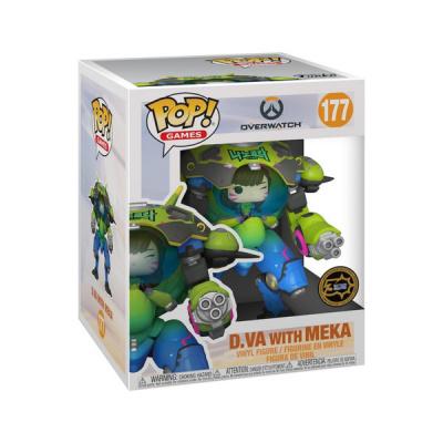Pop! Games: Overwatch - Nano Cola D.Va with Meka 15cm Exclusive FUNKO