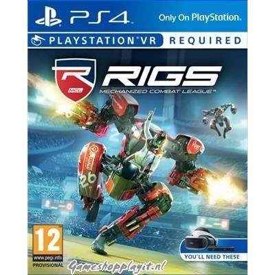 Rigs Mechanized Combat League (VR) PS4