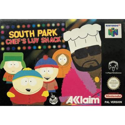 Foto van South Park Chef's Luv Shack N64