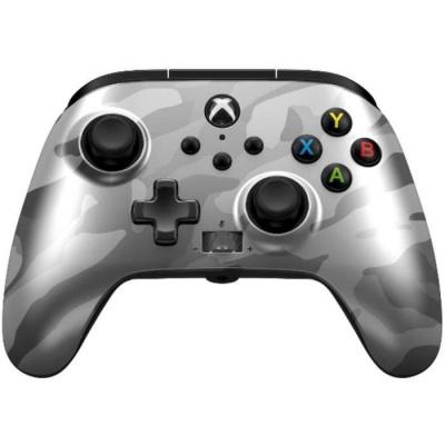 Foto van PowerA Enhanced Wired Controller for Xbox Series X/S (Metallic White Camo) XBOX ONE
