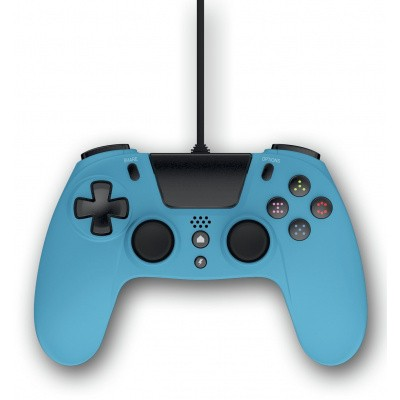 Foto van Gioteck VX4 Premium Wired Controller Blue PS4