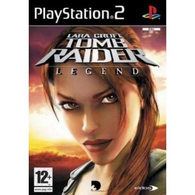 Lara Croft Tomb Raider Legend PS2