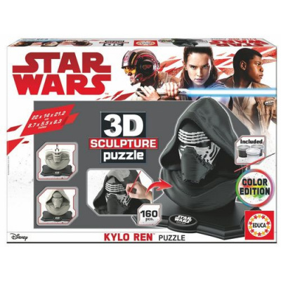 Star Wars: Kylo Ren Color Edition 3D Puzzle