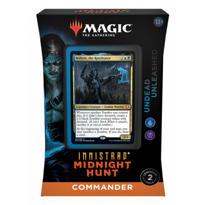 TCG Magic The Gathering Innistrad Midnight Hunt Commander Deck - Undead Unleashed MAGIC THE GATH