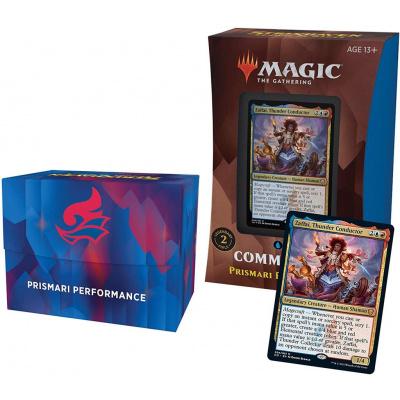 TCG Magic The Gathering Strixhaven Commander Deck - Prismari Performance MAGIC THE GATHERING