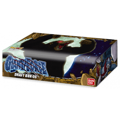 Foto van TCG Dragon Ball SCG Giant Force Draft Box 06 DRAGON BALL