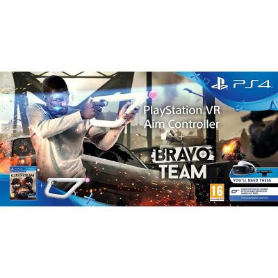 Foto van PlayStation VR Richtcontroller + Bravo Team VR PS4