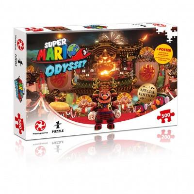 Foto van Super Mario Odyssey Bowser's Castle Puzzle 500pc PUZZLE