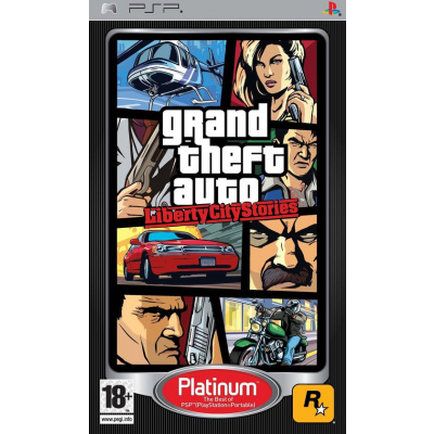 Grand Theft Auto Liberty City Stories (Gta) (Platinum) PSP