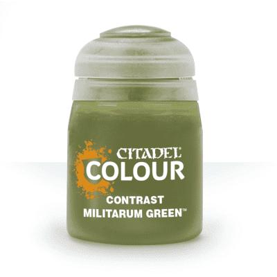 Citadel Contrast - Militarum Green CITADEL