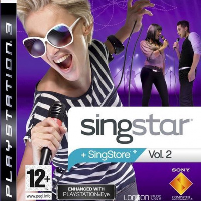 Singstar Vol.2 (Game Only) PS3