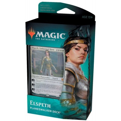 Foto van TCG Magic The Gathering Theros Beyond Death Planeswalker Deck - Elspeth MAGIC THE GATHERING
