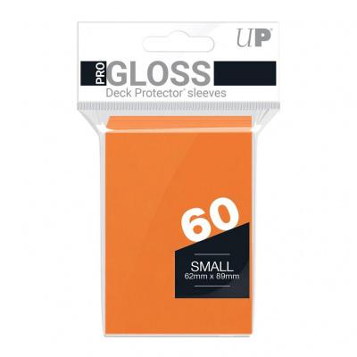 Foto van TCG Sleeves Gloss Ultra Pro - Orange (Small Size) SLEEVES