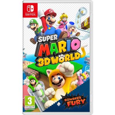 Foto van Super Mario 3D World + Bowser's Fury SWITCH