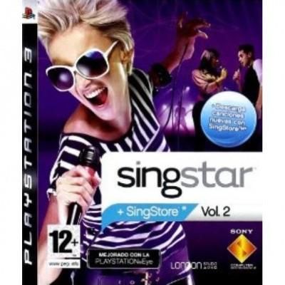 Singstar Vol.2 + Microphones PS3