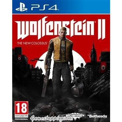 Foto van Wolfenstein 2 The New Colossus PS4