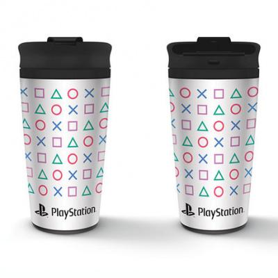Foto van Playstation (Shapes) Travel Mug MERCHANDISE
