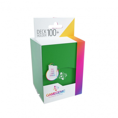 TCG Deckbox Deck Holder 100+ - Green DECKBOX