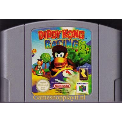 Foto van Diddy Kong Racing N64 - Losse Cassete