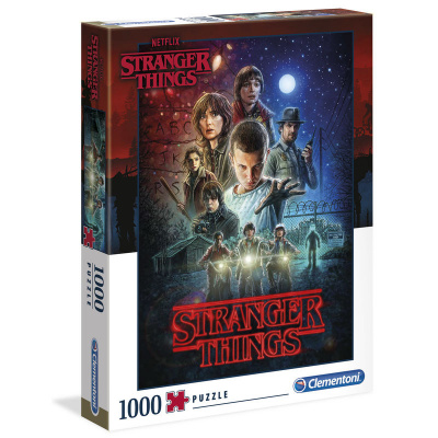 Stranger Things Poster Season 1 Puzzle 1000pc PUZZEL